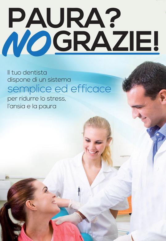 Sedazione cosciente paura del dentista